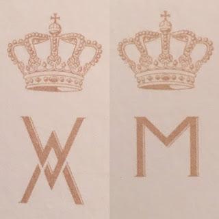 King Willem-Alexander & Queen Maxima's monograms