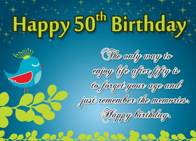 100 50th Birthday Wishes Inspirational Quotes Messages Meme