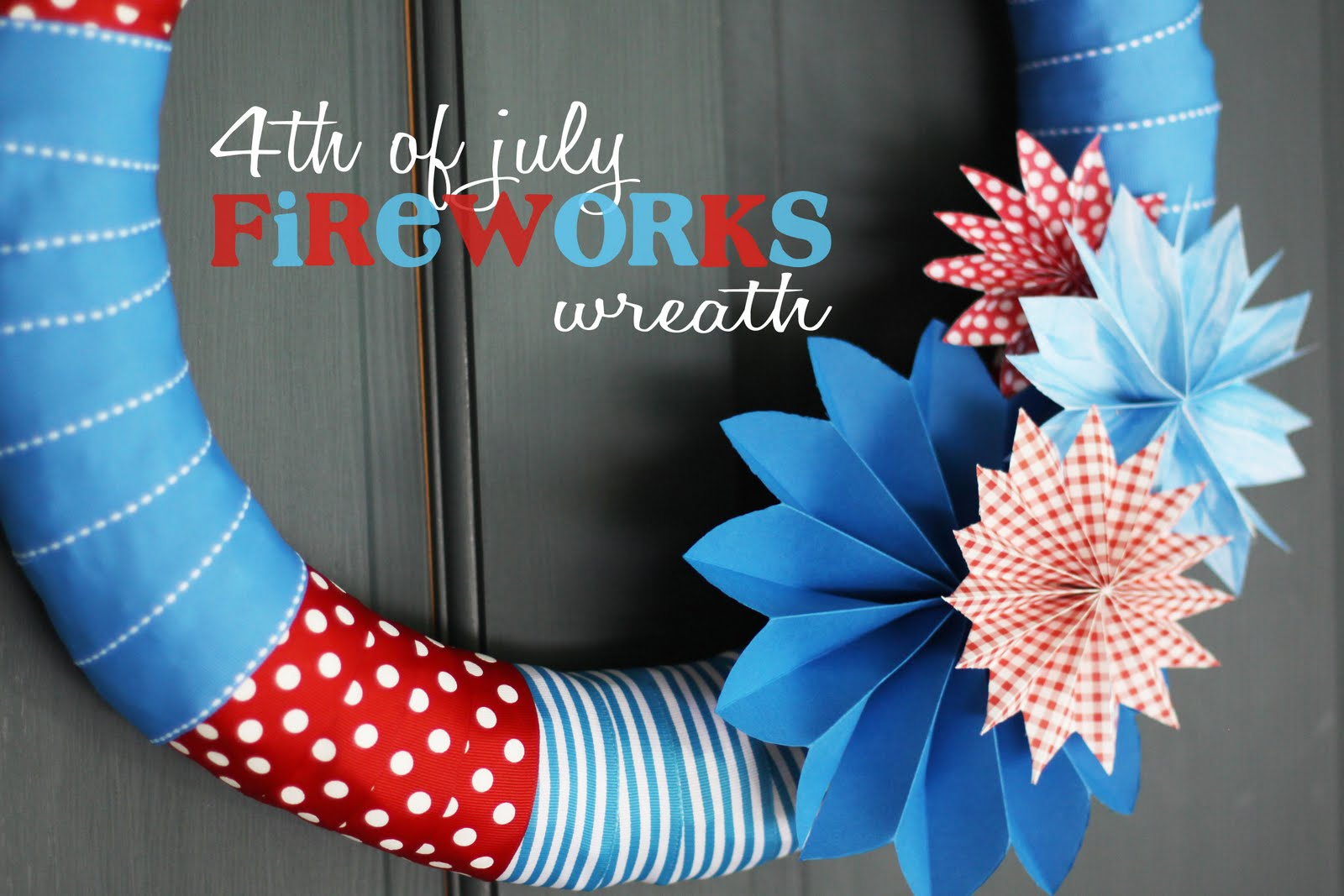 4th of July Wreaths - The 36th AVENUE