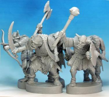 Northstar Miniatures: Plastic Fantasy Tolkienesque Goblins Previewed