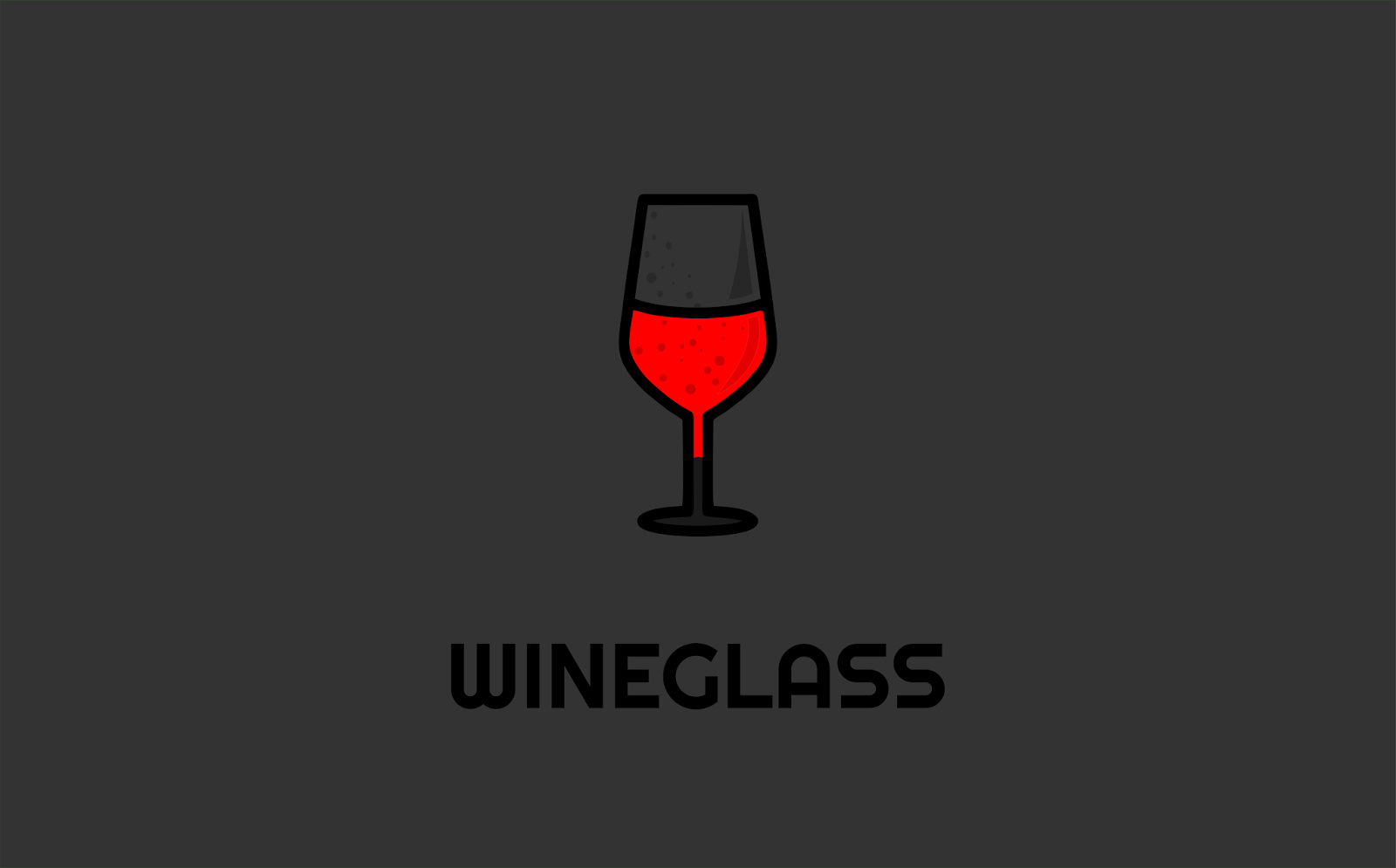 Wine Glass Logo Idea