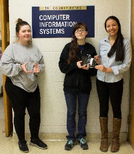 Tri-County RVTHS Students Win Massachusetts NCWIT Award for Aspirations in Computing