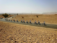 group cycling in the jordan valley
