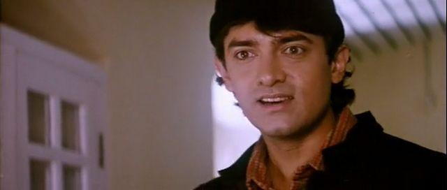Screen Shot Of Hindi Movie Raja Hindustani (1996) Download And Watch Online Free at worldfree4u.com