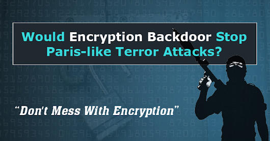Would Encryption Backdoor Stop Paris-like Terror Attacks?