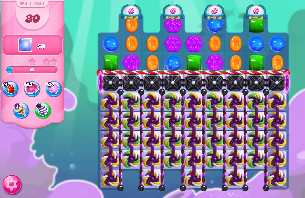 Candy Crush Saga level 7953