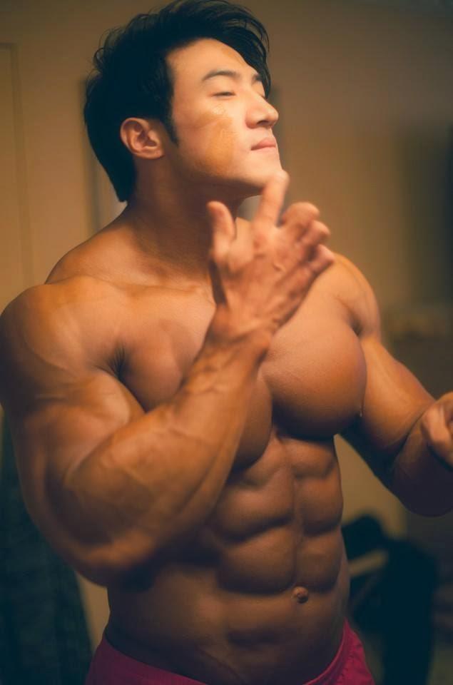 Asian Muscle Guy 19