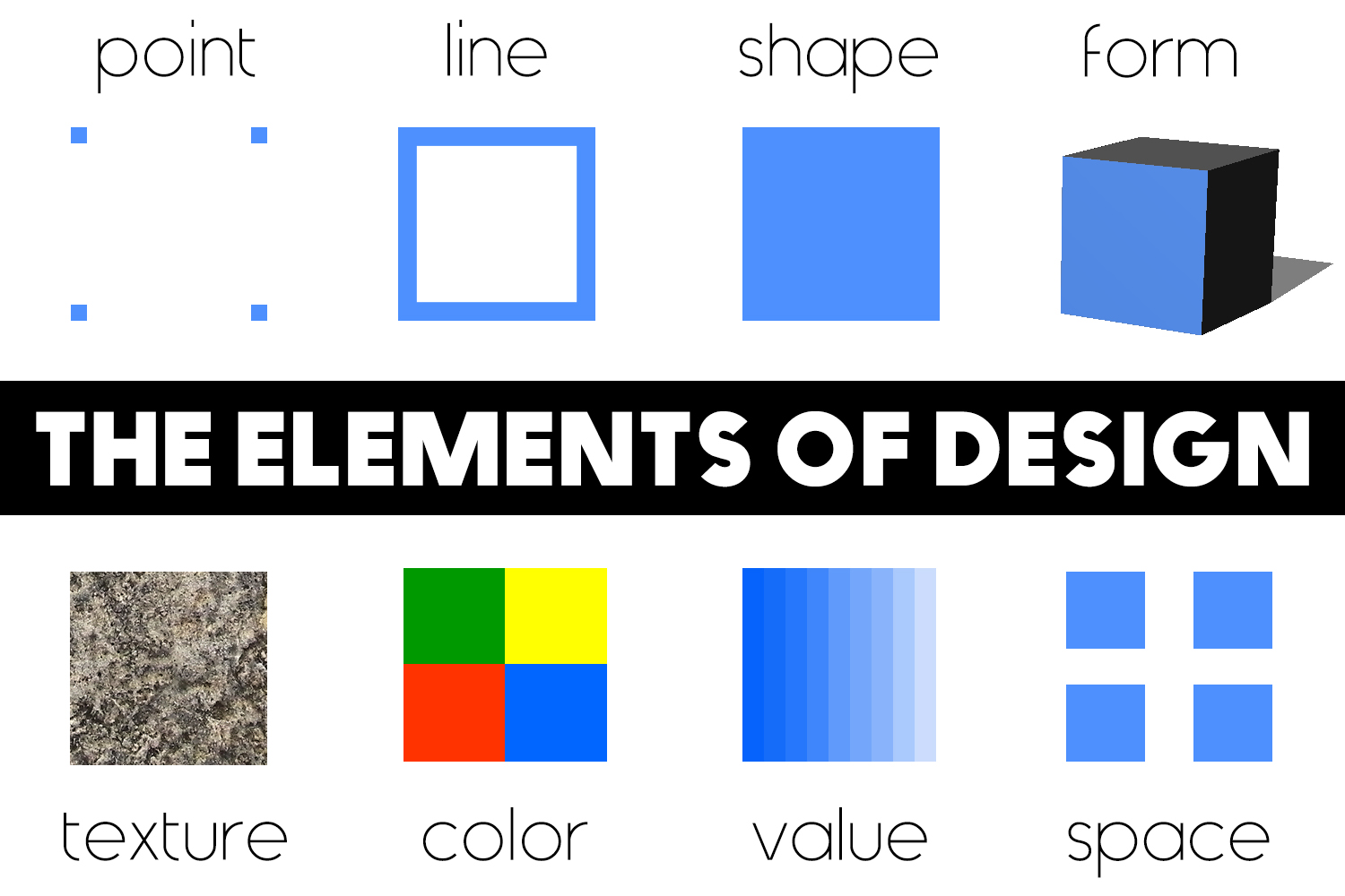 Elements Of Design Shape And Form : Elements of design onlinedesignteacher