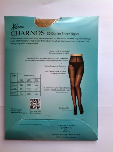 1ec4fb61c1f The Charnos Xelence 30 Denier Sheer Tights are made in Italy. The fabric is  85% Nylon