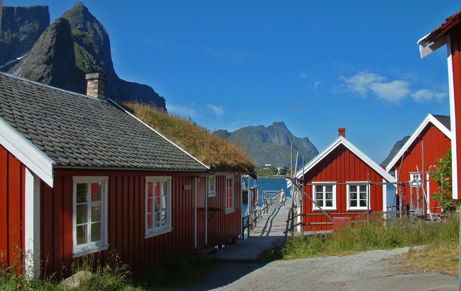 More of scenic Reine, Norway.