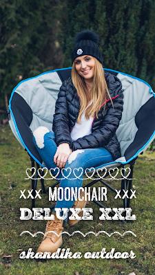 Gear of the Week #GOTW KW 12 | Moonchair Deluxe XXL Skandika Outdoor | Faltsessel im XXL-Format | komfortabler Campingstuhl | belastbar bis 150 kg