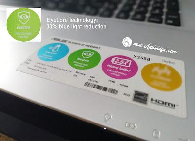EyeCare ASUS X555
