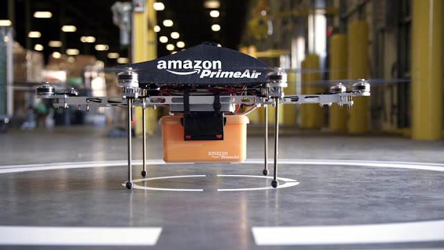 Amazon Prime Air Drone Delivery Track Order on Online Shopping