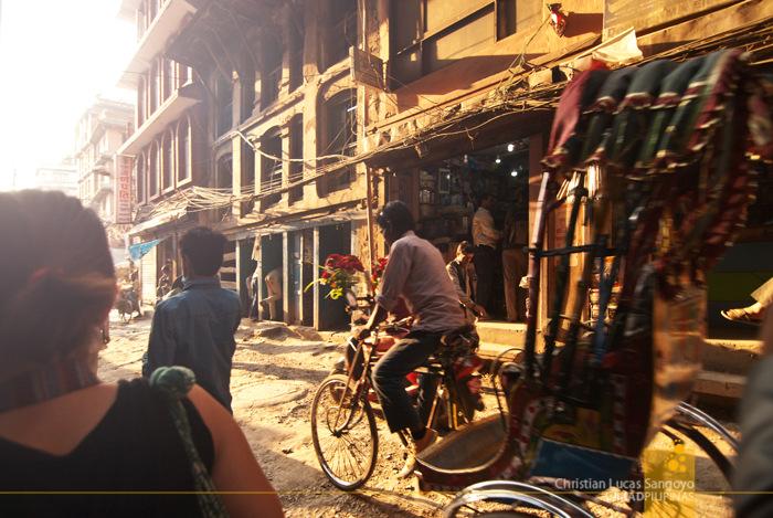 Kathmandu Streets Thamel Nepal