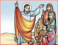 Resultado de imagen para En aquel tiempo, mientras Jesús hablaba a las gentes, una mujer de entre el gentío levantó la voz,
