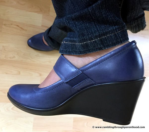 Stylish, yet comfortable. My new Hotter Shoes