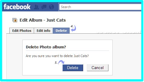 how to delete albums on facebook 2017