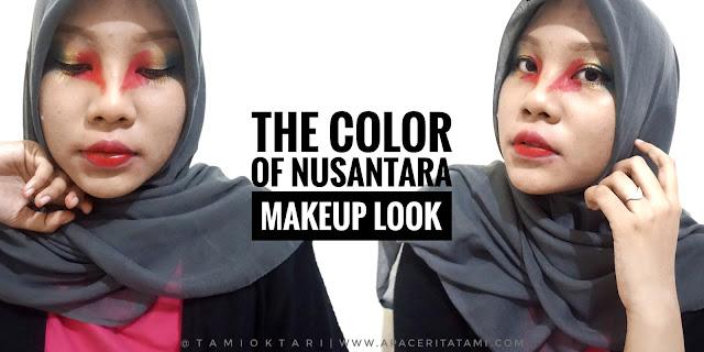 BEAUTYGOERS COLLAB: The Color of Nusantara Makeup Look