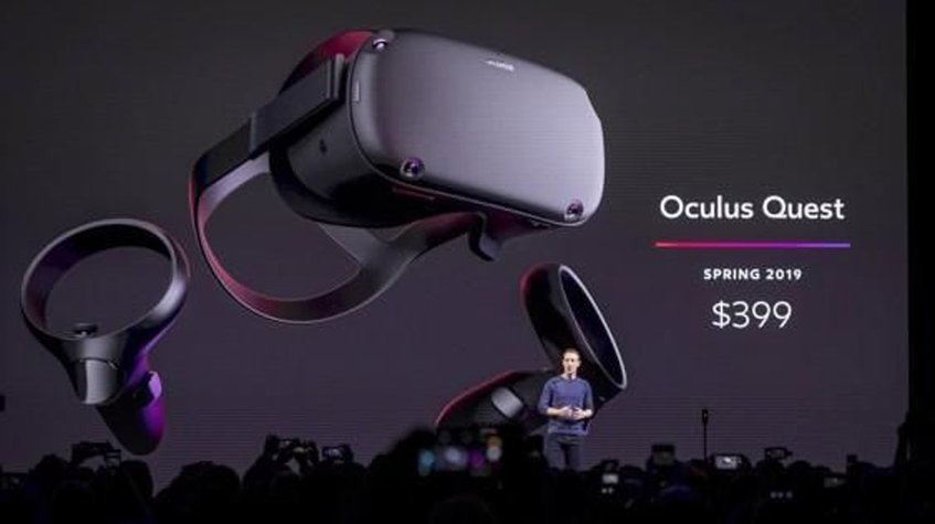Facebook launched the new Quest virtual reality viewer