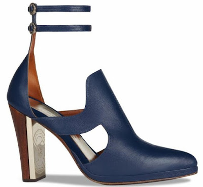 Jaclyn Jones Jasmine heels navy