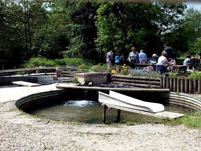 piscifactoria de Bibury en los Cotswolds