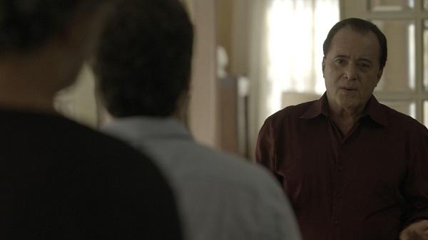 Gabriel e Murilo surpreende Olavo com proposta inusitada (Imagem: Reprodução/TV Globo)