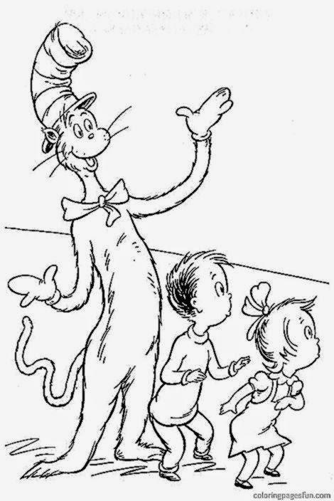 Activity Cat Hat Pages