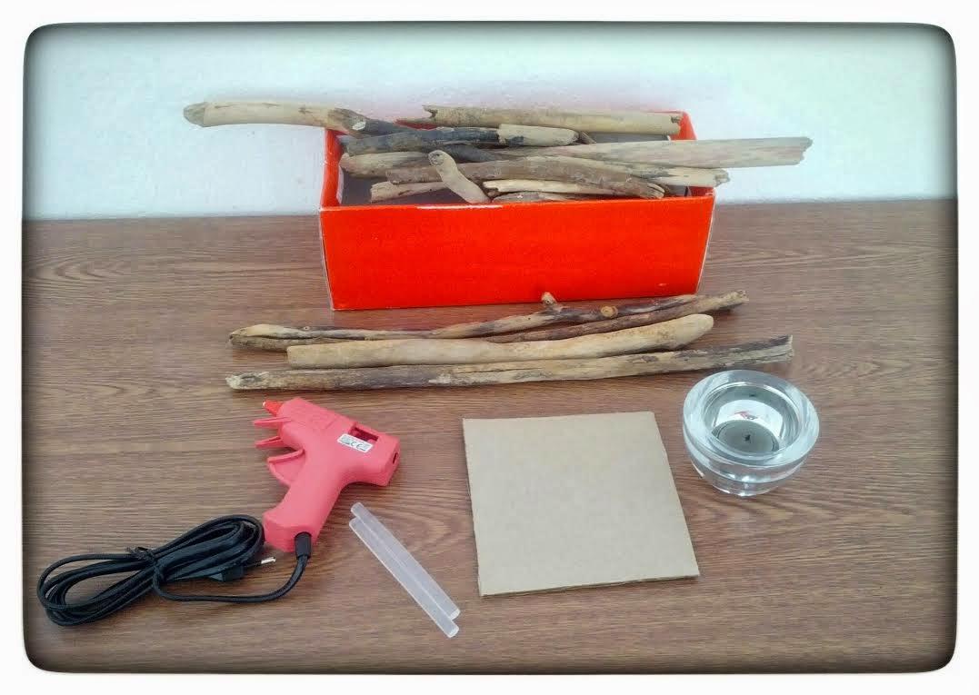Diy photophore en bois flott madmoizelle cupcake for Realisation bois flotte