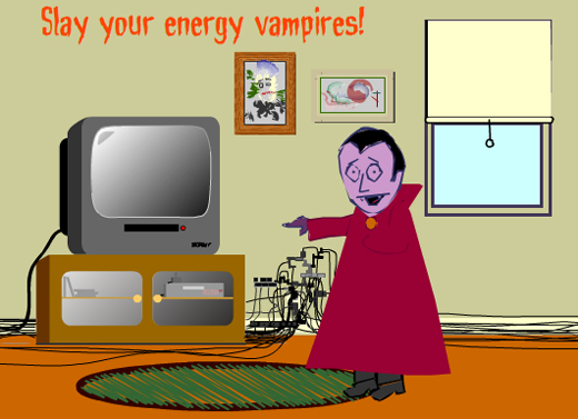 Home Energy Vampires – Make Your Home Energy Efficient