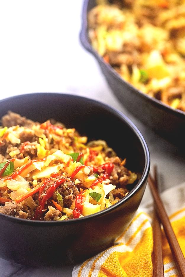 Egg Roll In A Bowl Recipes