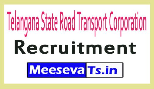 Telangana State Road Transport Corporation TSRTC Recruitment