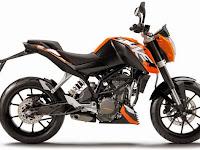 Harga KTM Duke 200 Terbaru Bulan Oktober 2015