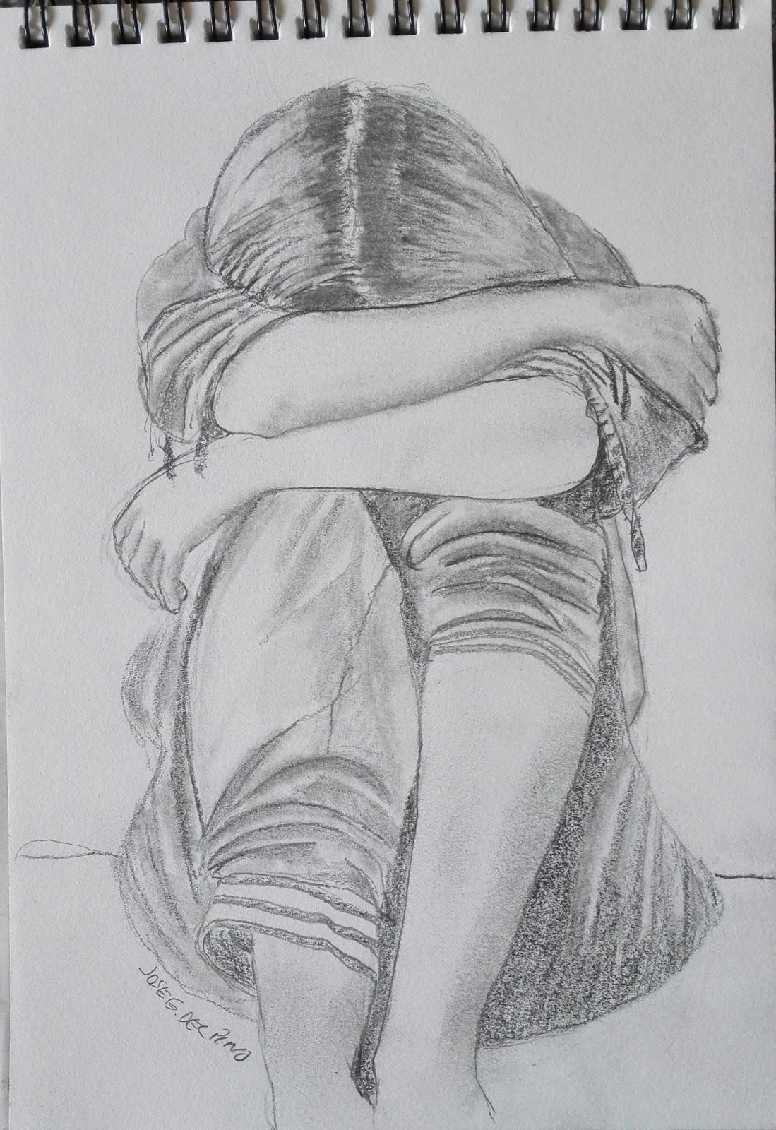 Dibujos Y Pinturas Tristeza