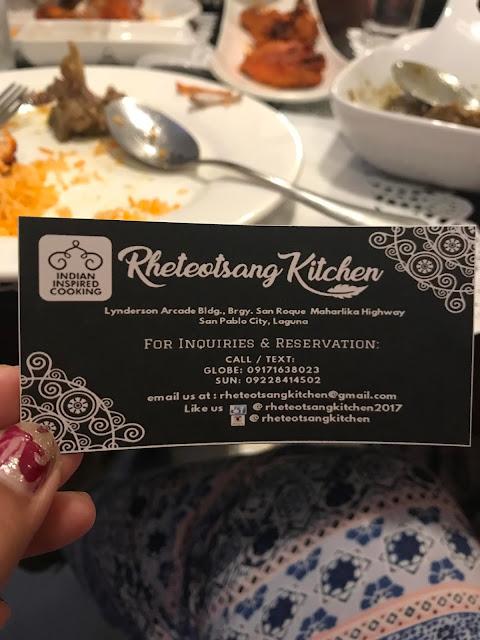 Rheteotsang Kitchen