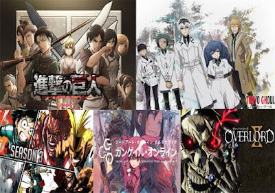 10 Daftar Anime Terbaik Di Tahun 2018