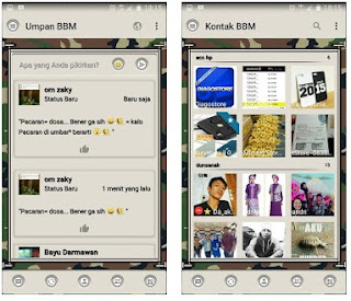 BBM Mod Army - Based Official V3.0.1.25 Apk Terbaru
