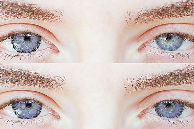 Fusion Violet Gray Lens