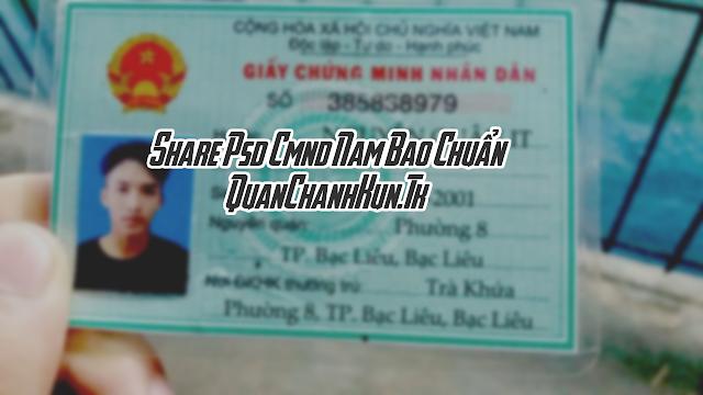 SHARE PSD CMND NAM BAO CHUẨN !