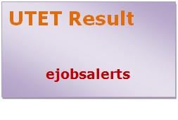 UTET Result 2017