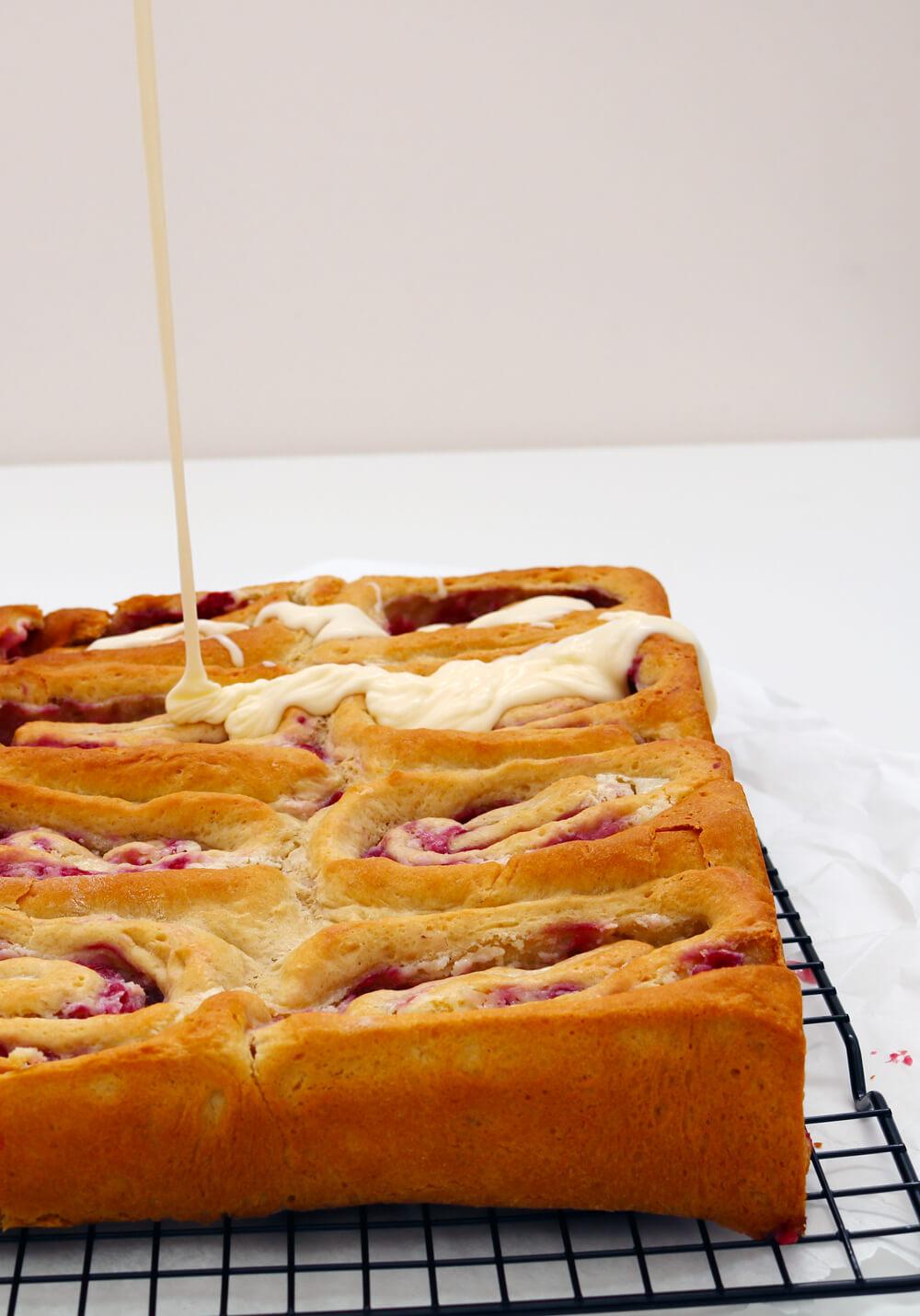 Raspberry Cheesecake Buns | Bake Off Bake Along | Take Some Whisks