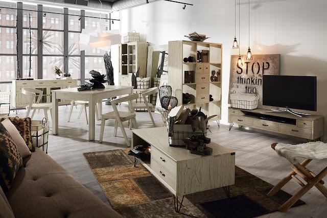 Muebles para casas peque as muebles funcionales de estilo industrial para el salon - Muebles funcionales ...