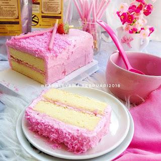 Ide Resep Sponge Cake Pocky Strawberry Ala Kue Artis