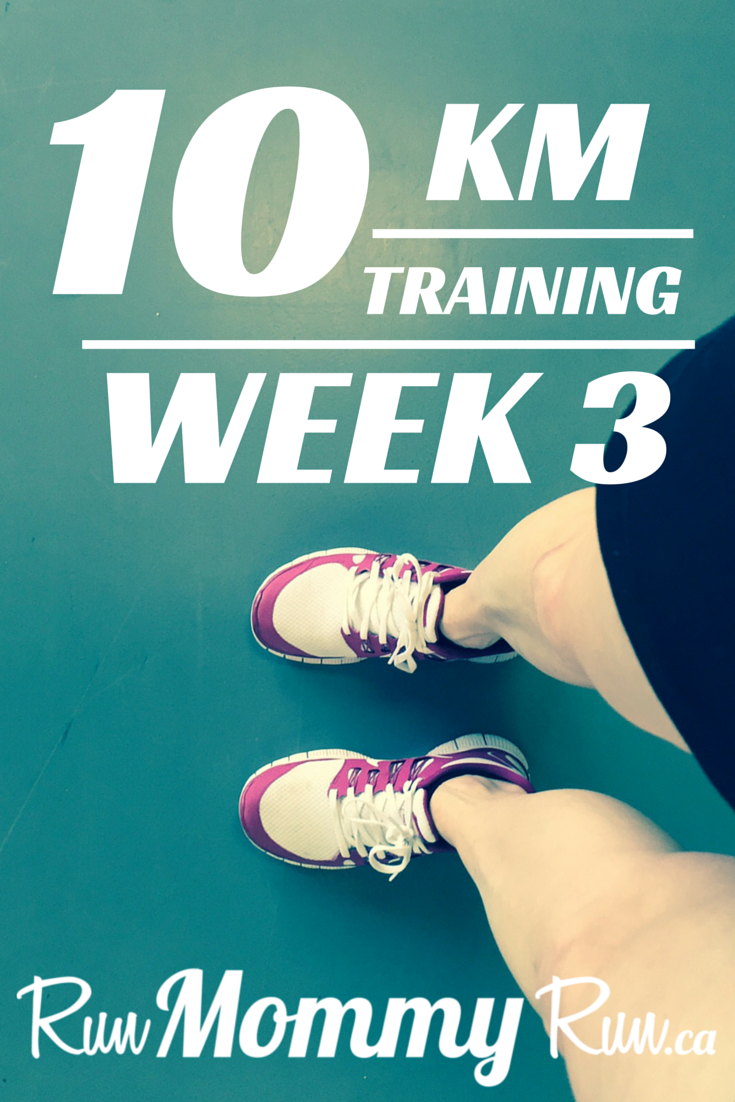 Image for 10 Km training Week 3