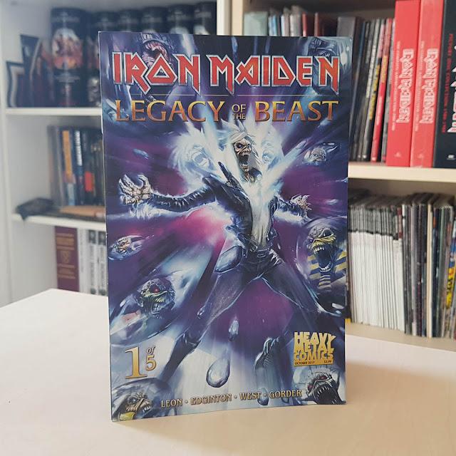 Legacy Of The Beast: quadrinhos do Iron Maiden disponíveis no Brasil
