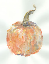 Pumpkin with Twisty Stem