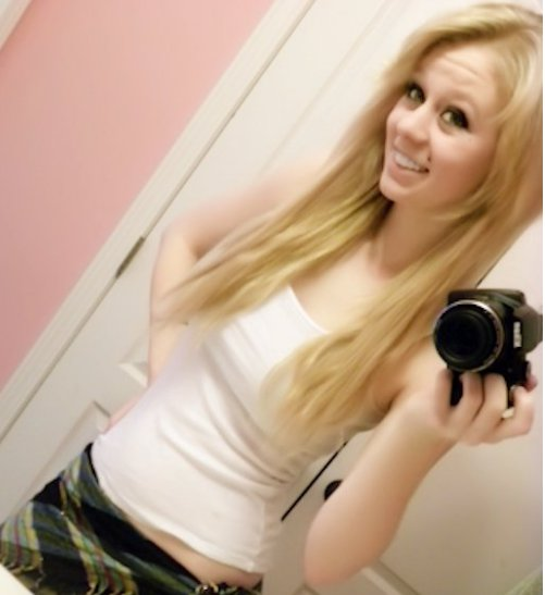 Blonde girls on facebook And