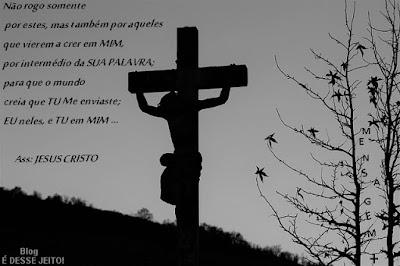 Imagem do CRISTO crucificado para nossa SALVAÇÃO