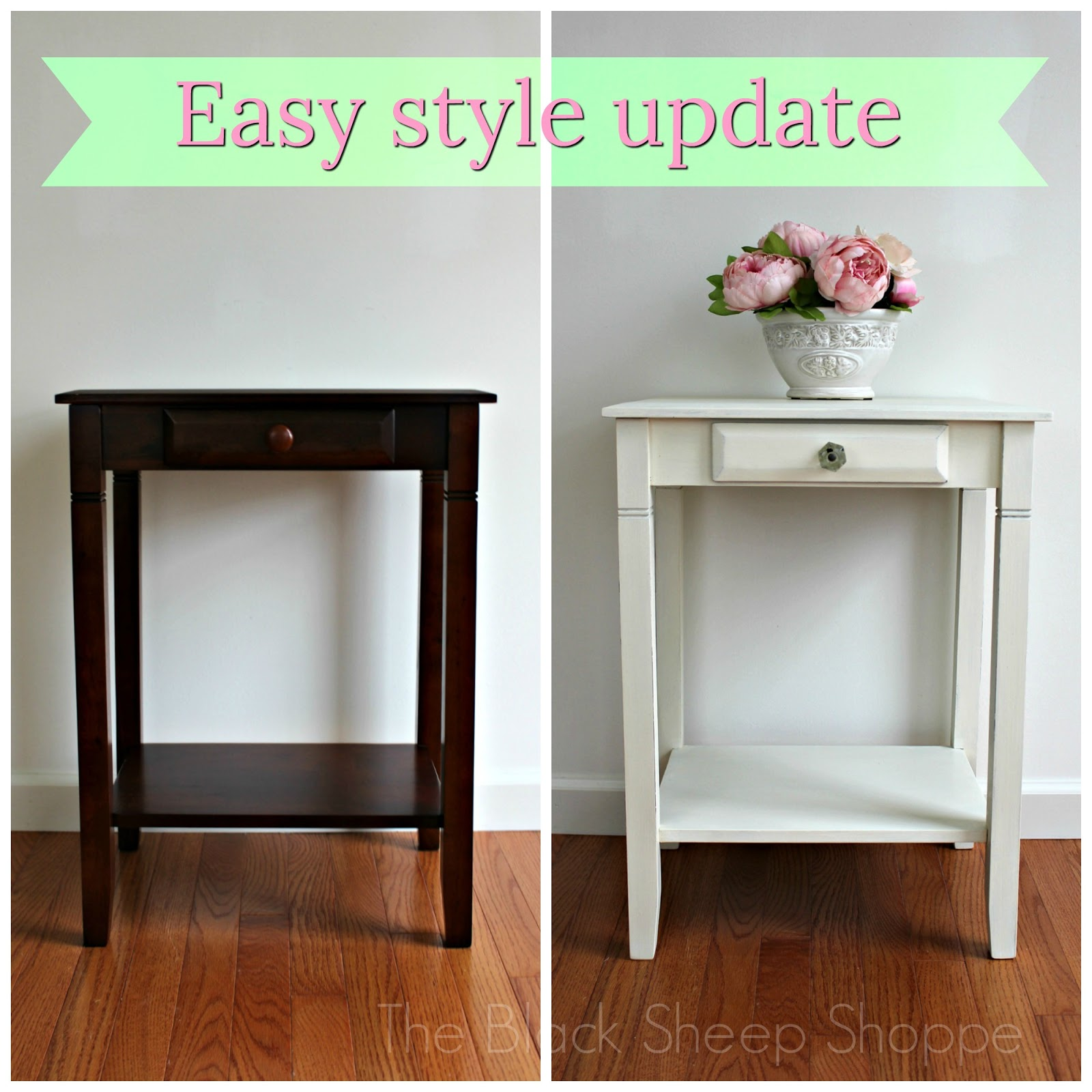 It's easy to update your furniture style with Chalk Paint.