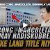 PANOORIN: CONG. MARCOLETA, ISINIWALAT ANG MGA PEKENG LAND TITLE NG ABS-CBN