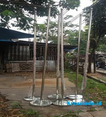 Jasa Tiang Bendera Stainless di Yogyakarta Tiang Bendera Dalam Ruangan